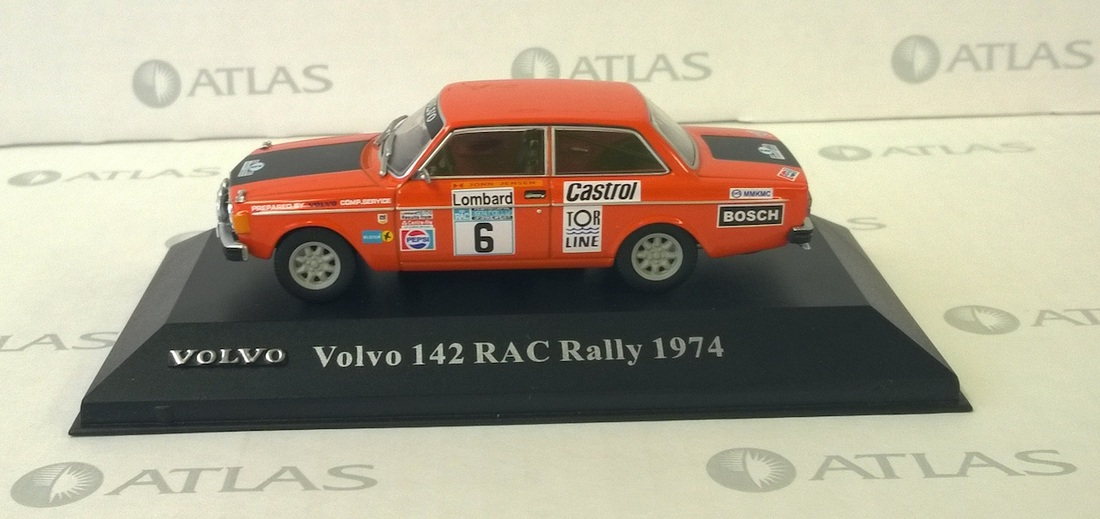Volvo 142 Rac Rally By Editions Atlas Minivolvo Lu