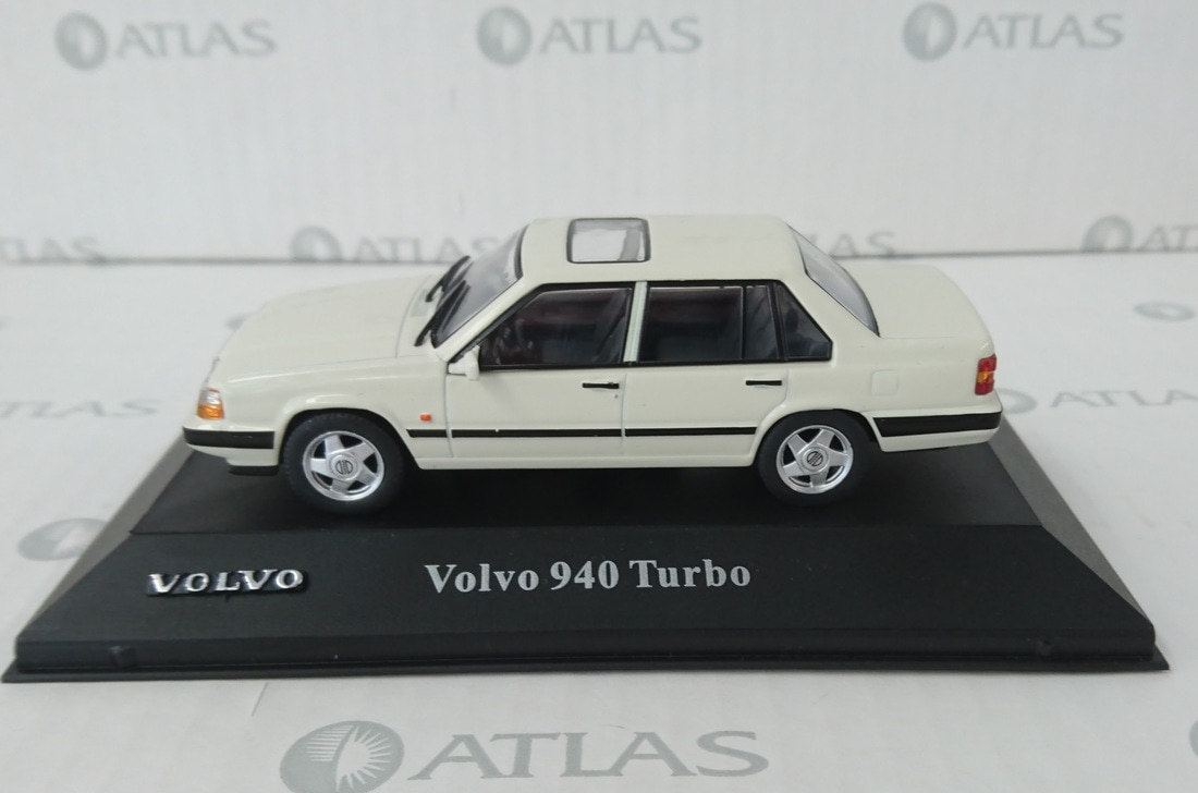volvo 940 turbo by editions atlas. Black Bedroom Furniture Sets. Home Design Ideas