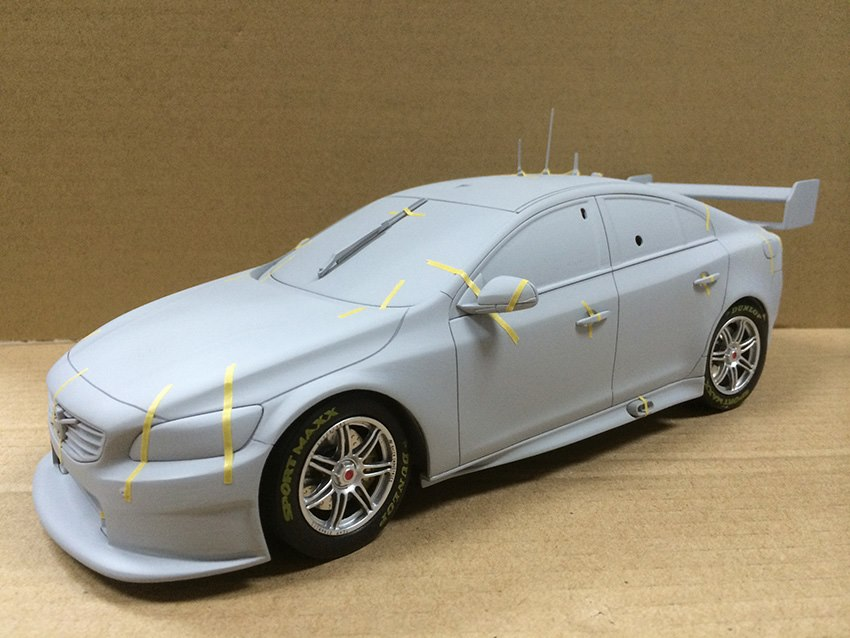 Updated Volvo S60 V8 Supercar By Apex Replicas