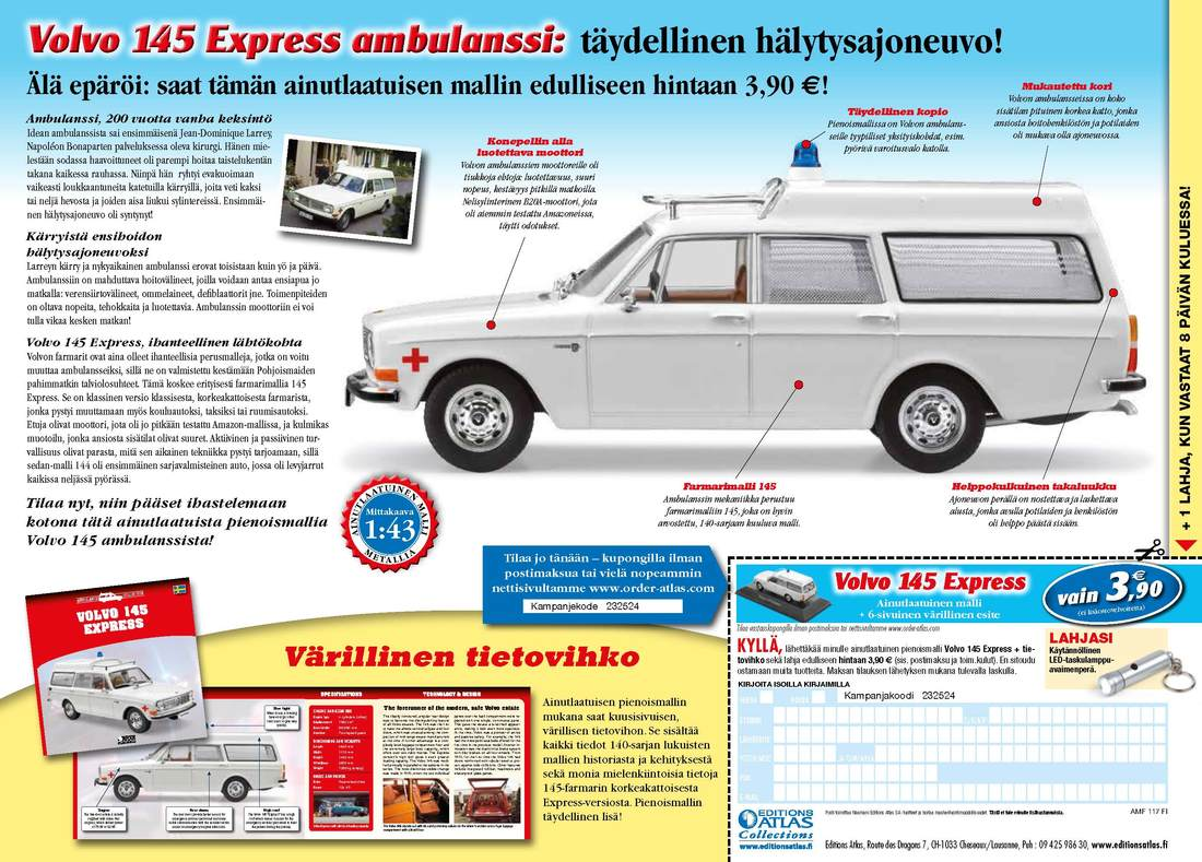 Category 143 Electric Fan Installation Kjetorg Flyer For The Ambulance Collection In Denmark