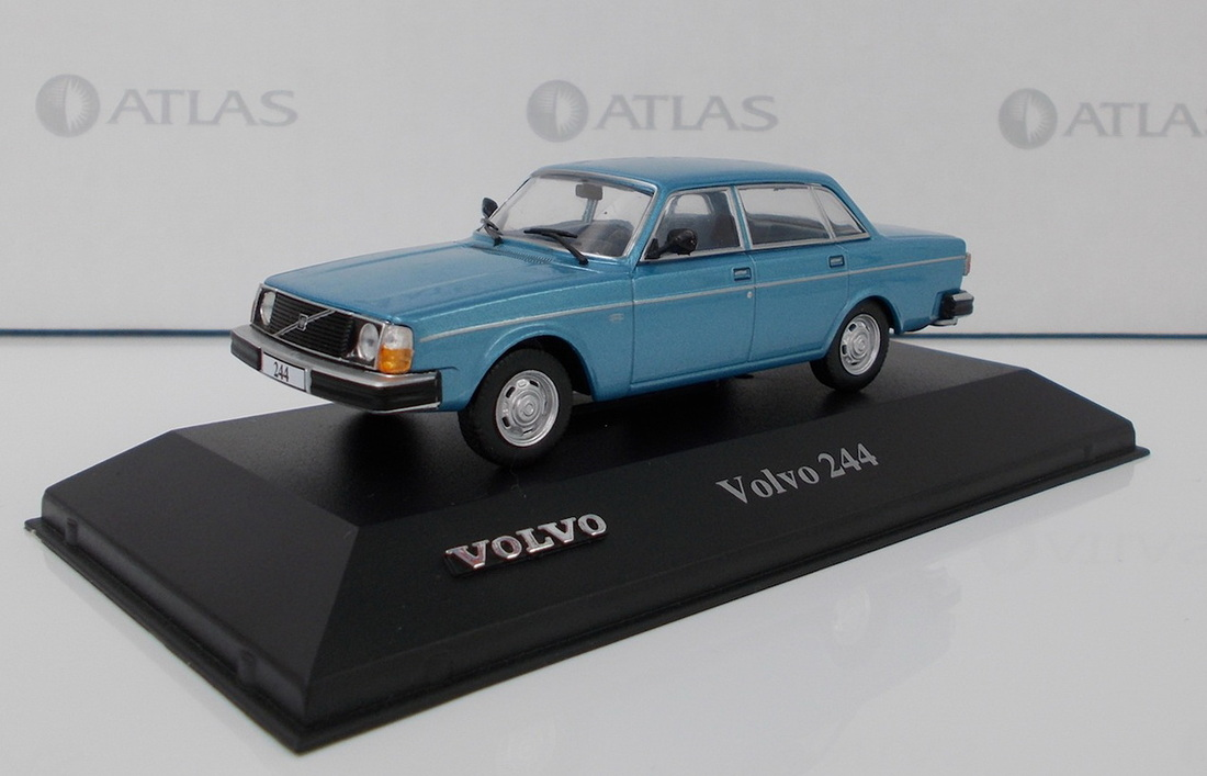 Volvo 244 dl 39 blue star 39 by editions atlas for Star motor cars volvo